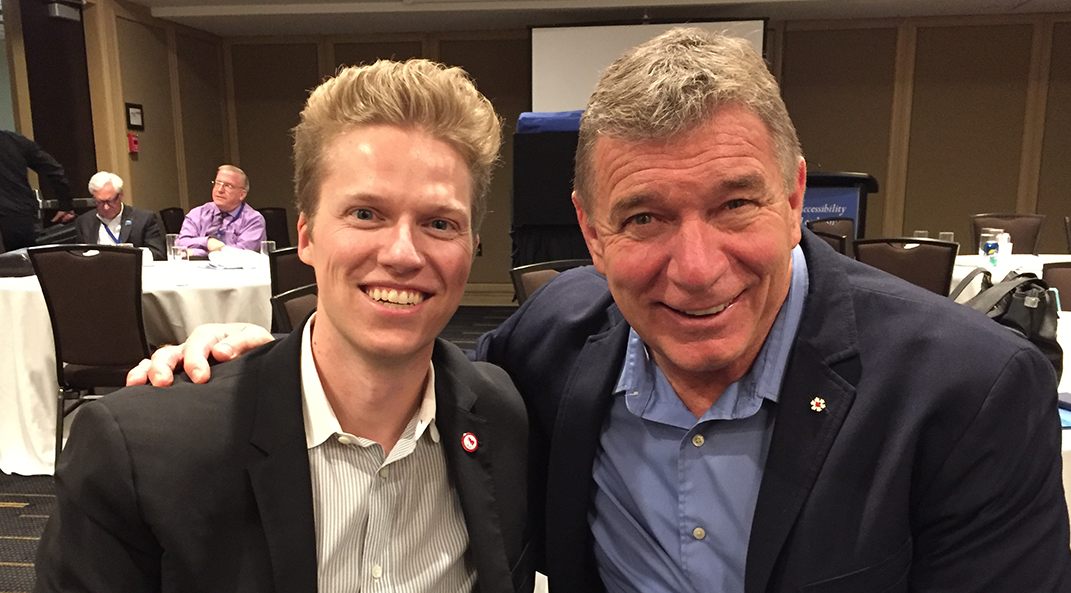 Third Factor CEO Dane Jensen and Rick Hansen